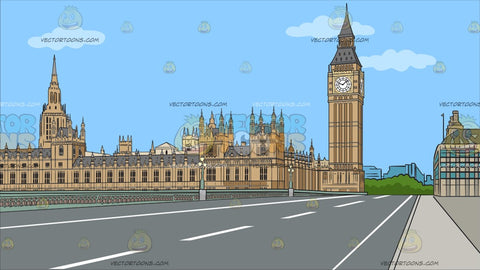 Big Ben And House Of Parliament Background