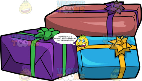 Boxes Of Birthday Presents