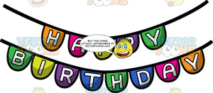 A Happy Birthday Banner