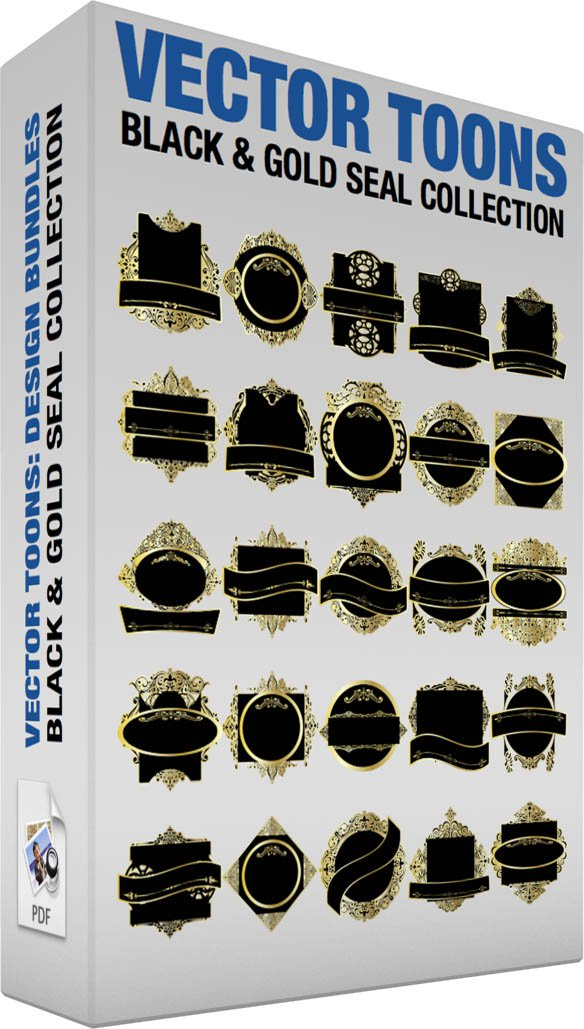 Black And Gold Seal Collection