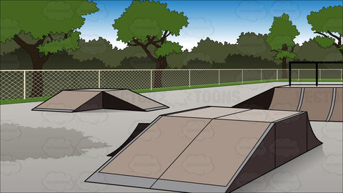 Bmx Bike Park Background