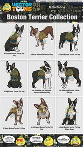 Boston Terrier Collection