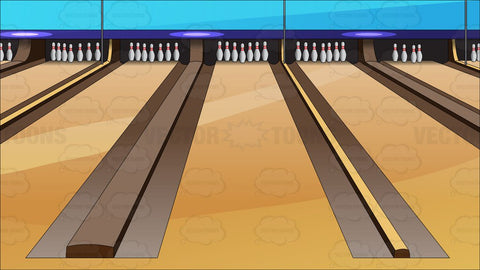 Bowling Lanes Background