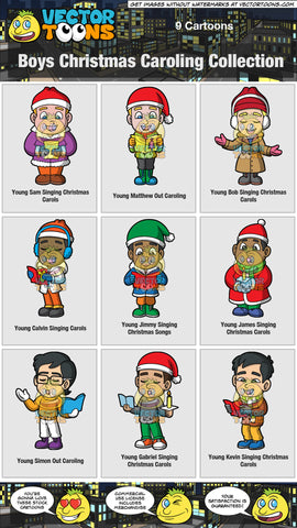 Boys Christmas Caroling Collection