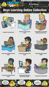 Boys Learning Online Collection