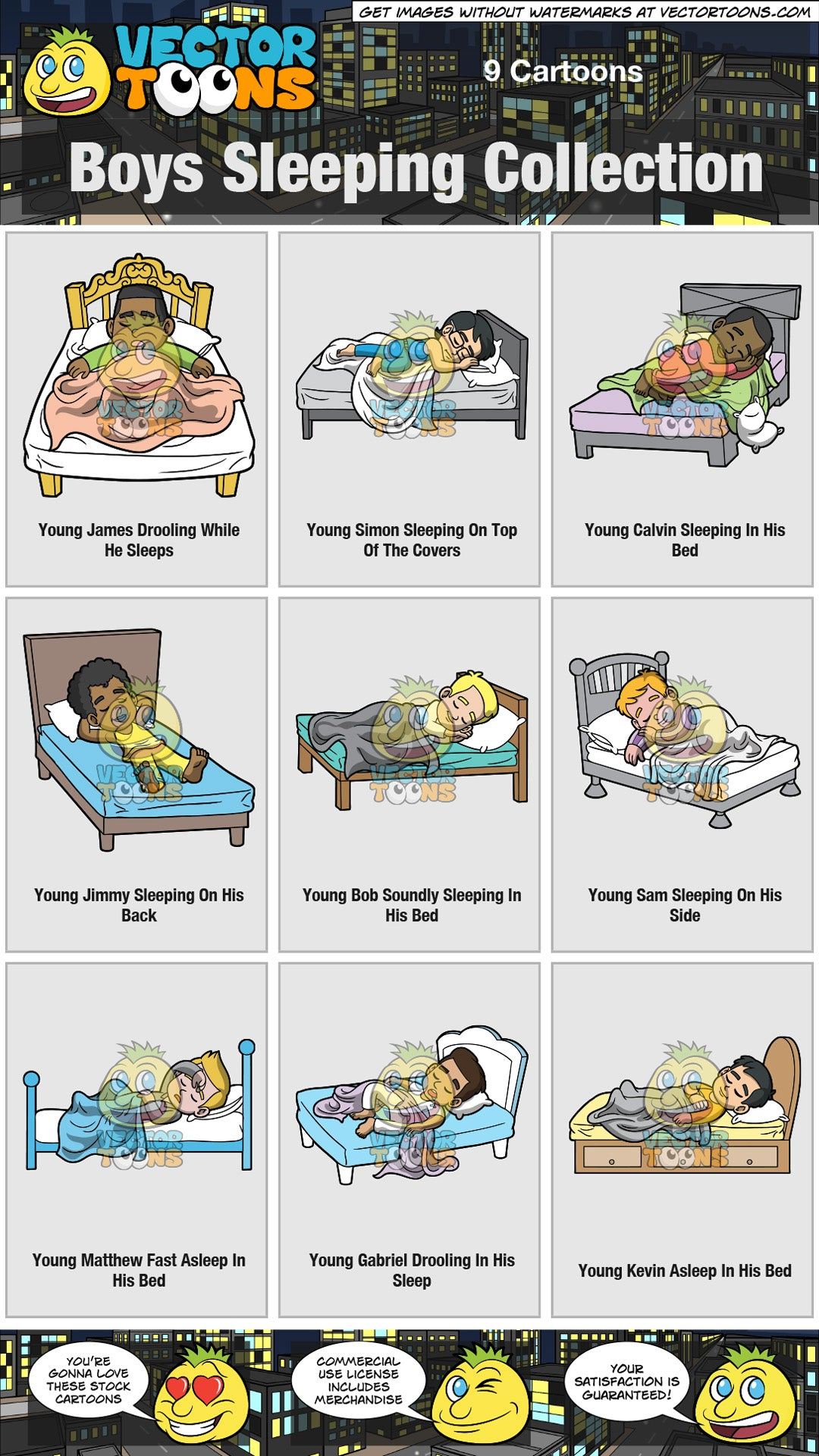 Boys Sleeping Collection