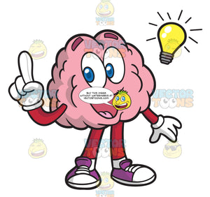 A Brain With A Bright Idea