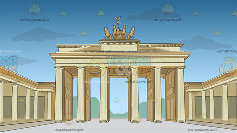 Brandenburg Gate Background
