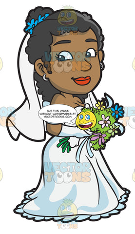 A Pretty Black Bride