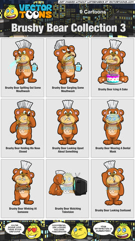 Brushy Bear Collection 3
