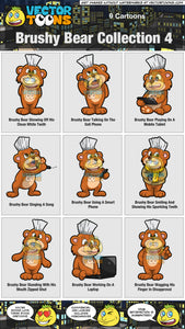 Brushy Bear Collection 4