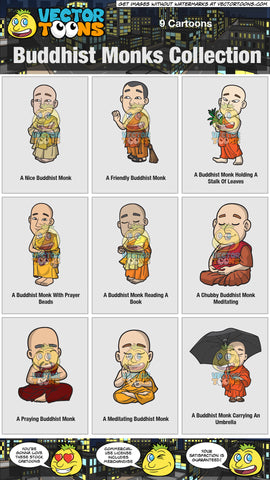 Buddhist Monks Collection