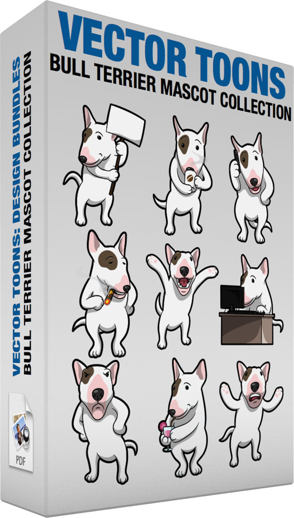 Bull Terrier Mascot Collection