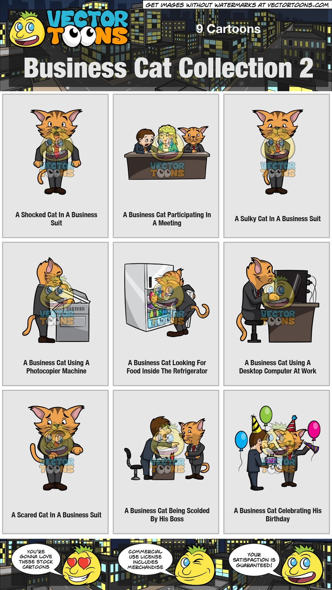 Business Cat Collection 2