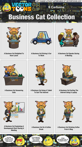 Business Cat Collection
