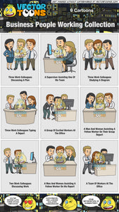 Business People Working Collection