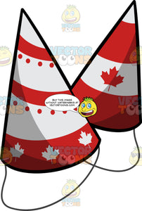 Canada Day Party Hats