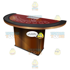Professional Blackjack Table