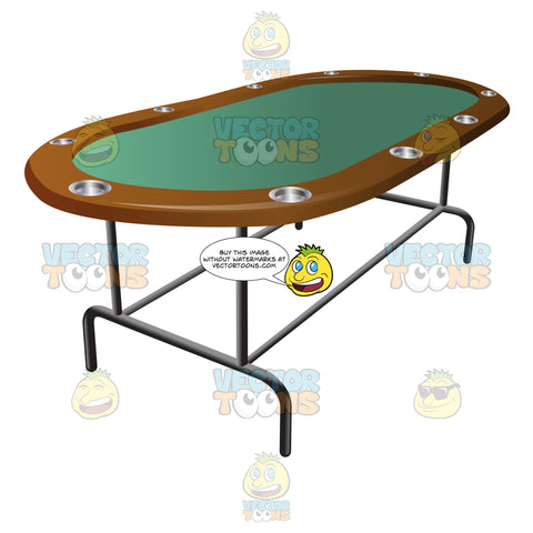 Casino Folding Stud Poker Table