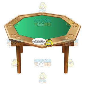 Portable Octagon Poker Table