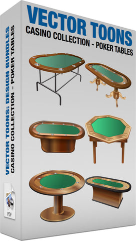 Casino Collection Poker Tables