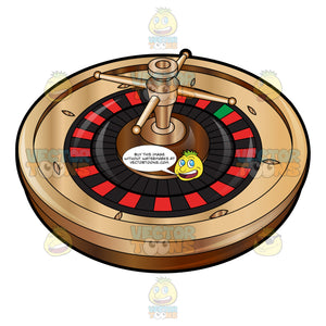 Luxury European Style Roulette Wheel