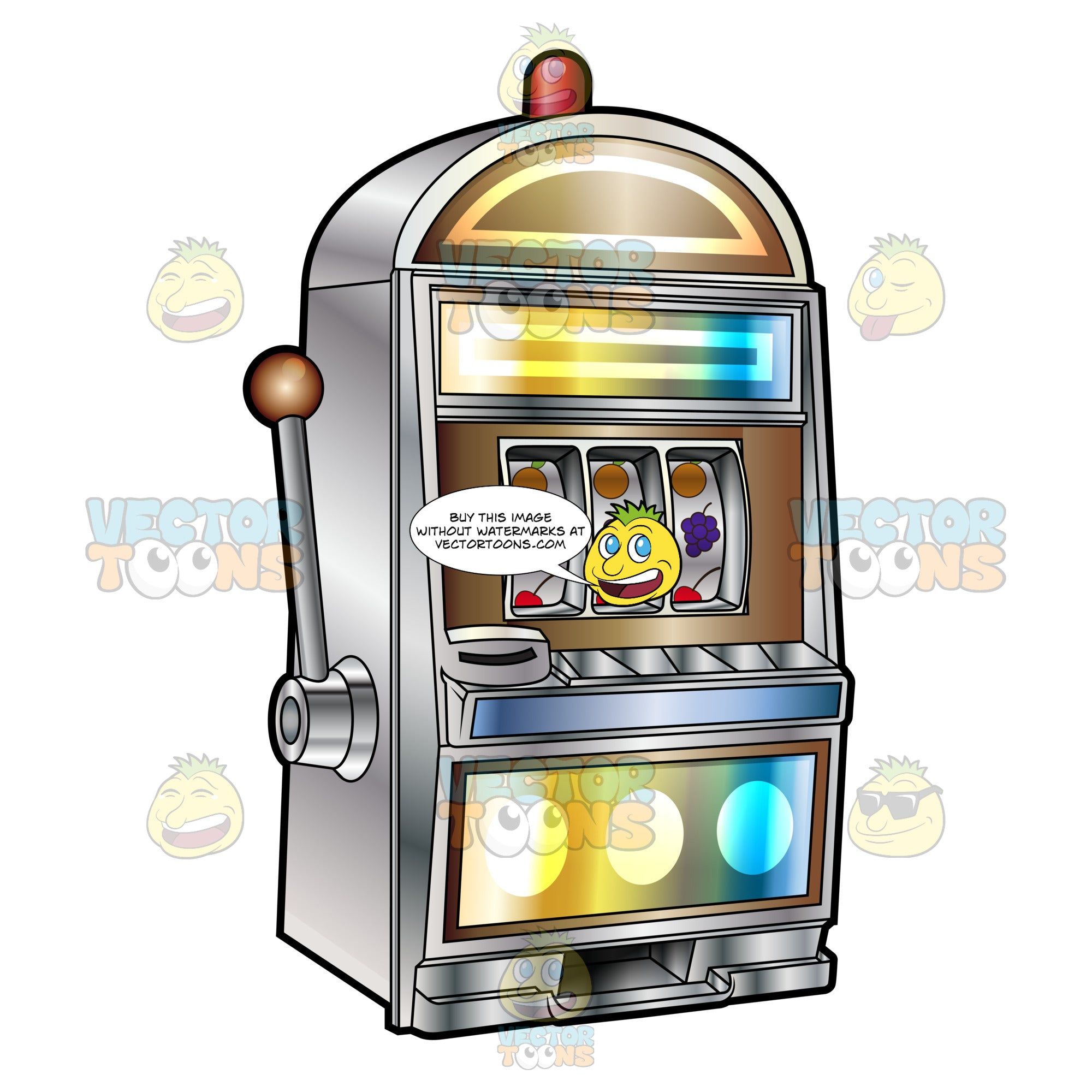 Fruit Slot Machine With Siren