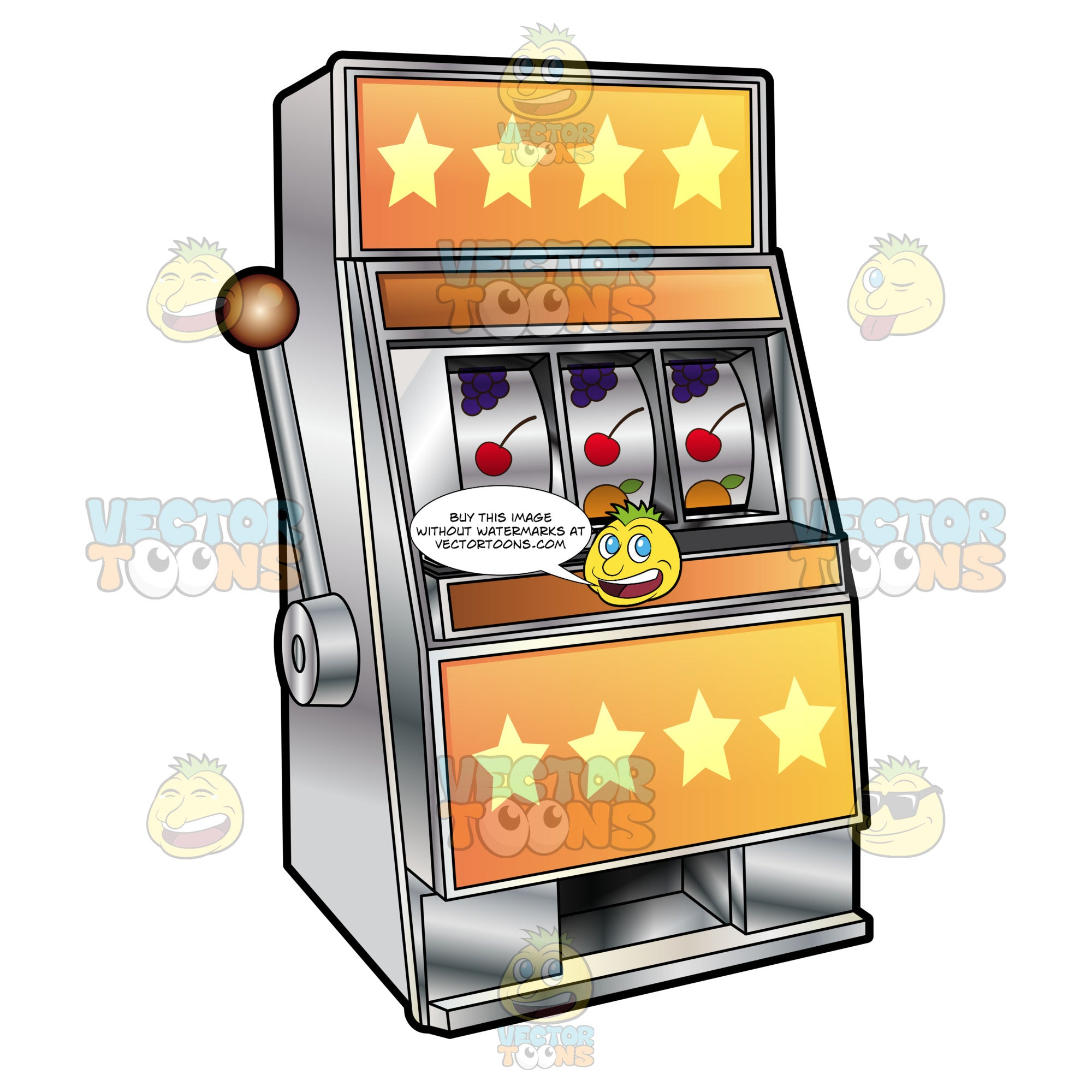 Cartoon Slot Machine