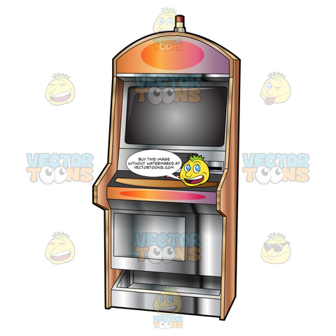 Generic Video Slot Machine With Siren