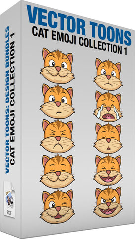 Cat Emoji Collection 1