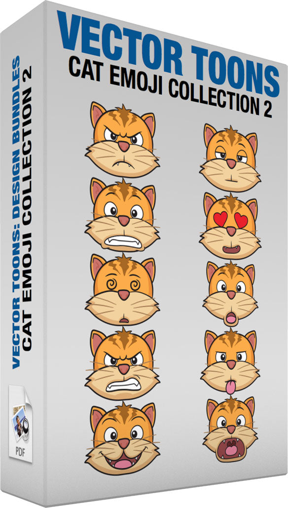 Cat Emoji Collection 2