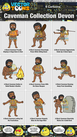 Caveman Collection Devon
