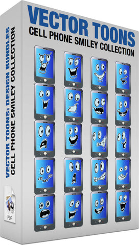 Cell Phone Smiley Collection