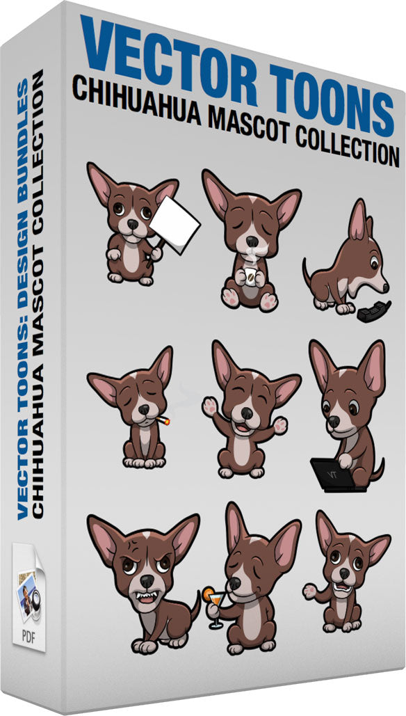 Chihuahua Mascot Collection