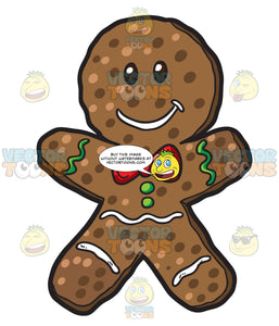 A Christmas Gingerbread Man