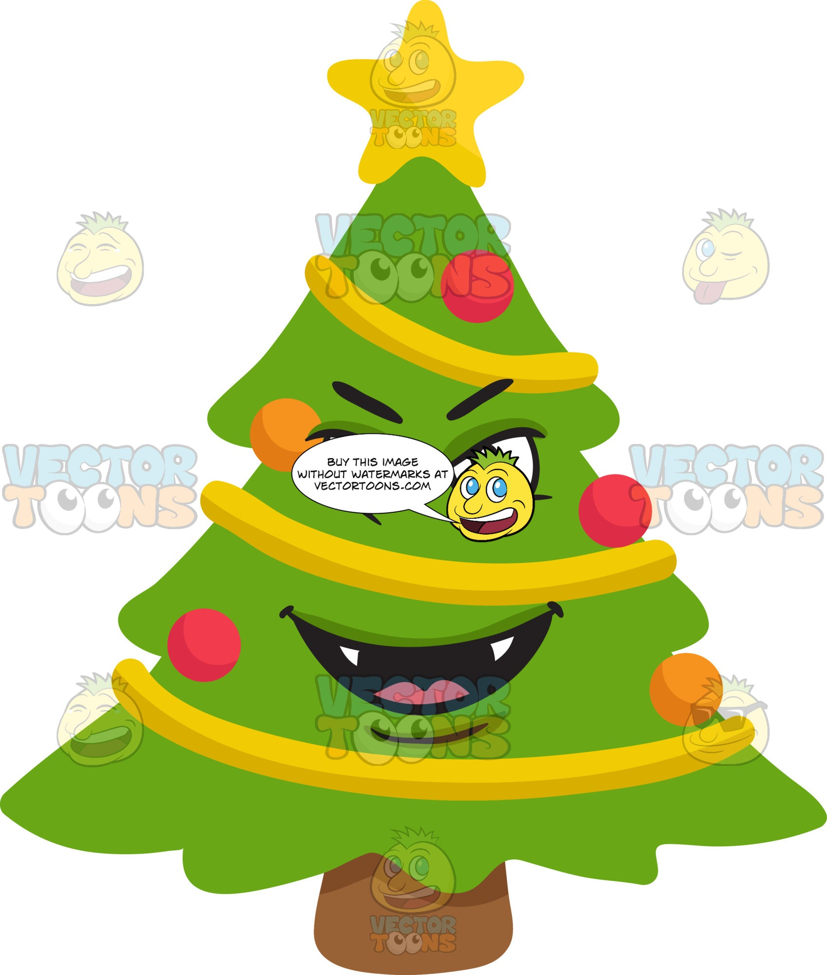 A Mischievous Christmas Tree
