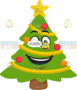 A Very Happy Christmas Tree
