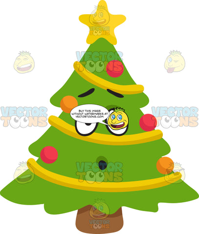 A Dumbfounded Christmas Tree
