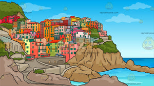 Cinque Terre Italy Background