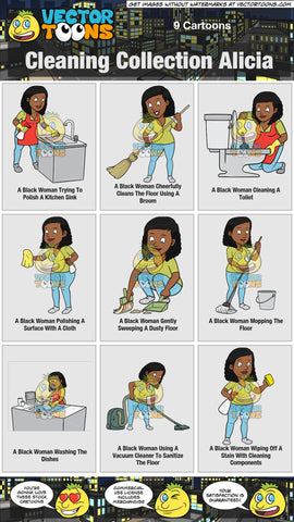 Cleaning Collection Alicia