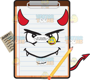 A Devilish Clipboard