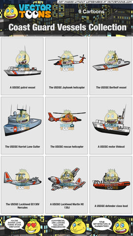 Coast Guard Vessels Collection