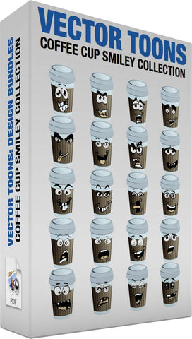 Coffee Cup Smiley Collection
