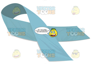 Light Blue Awarness Ribbon