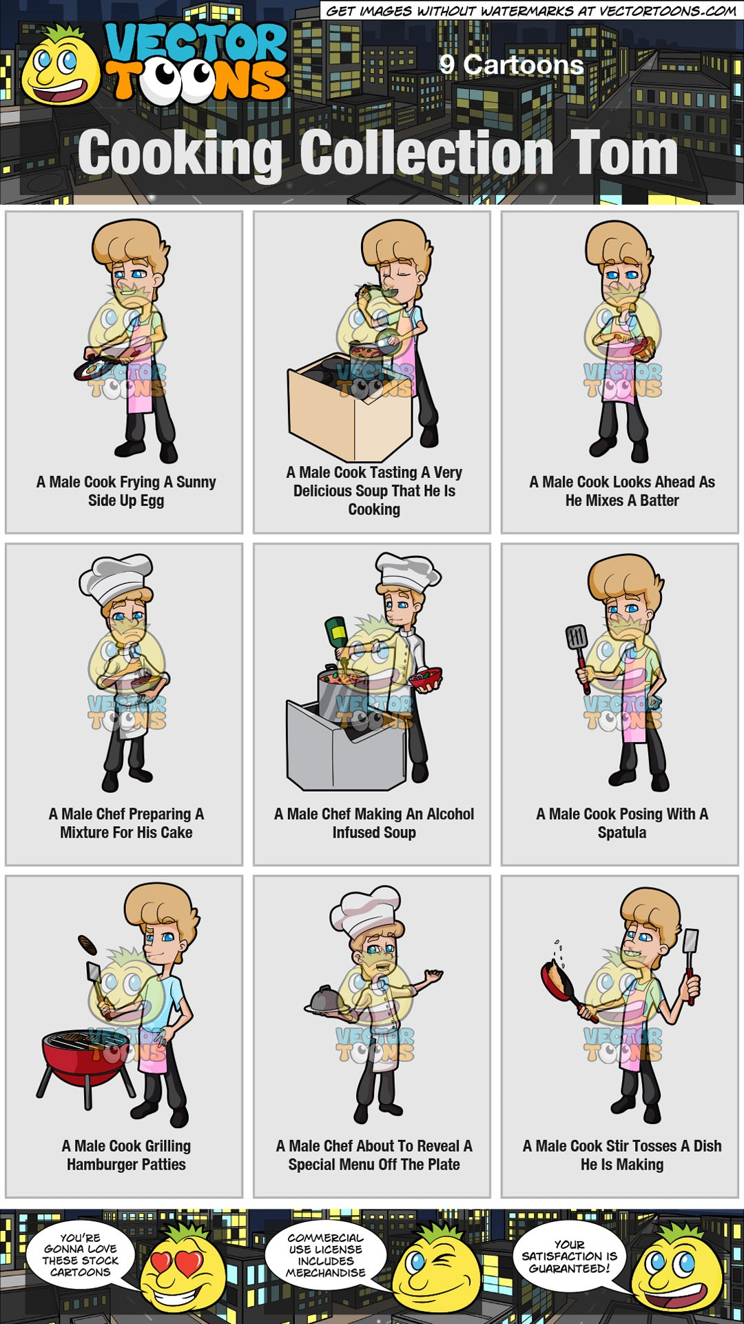 Cooking Collection Tom