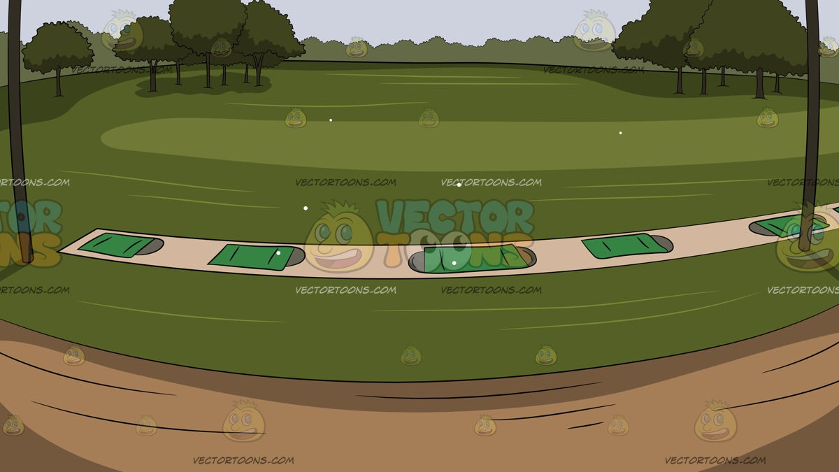 Country Club Driving Range Background