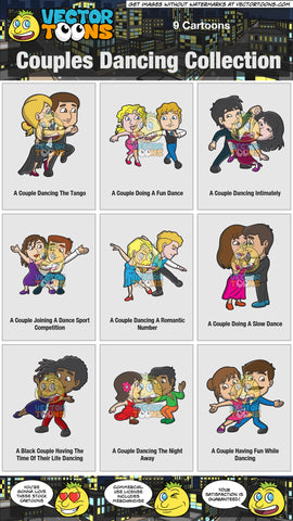 Couples Dancing Collection