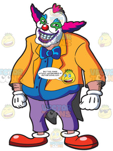 A Fat Creepy Clown