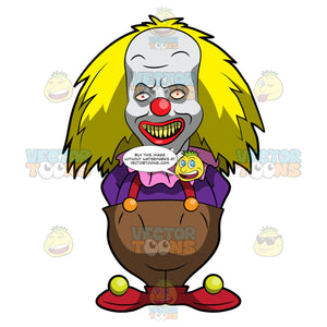 A Scary Short Clown