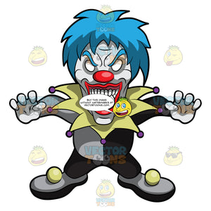 A Very Frightening Clown
